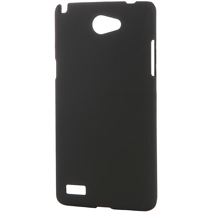 Чехол Skinbox 4People для LG Max X155, черный