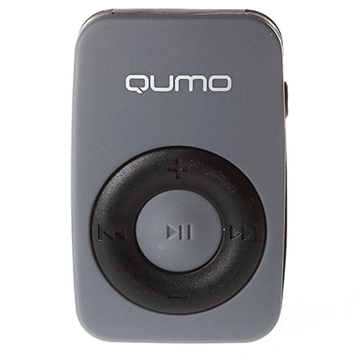 Плеер MP3 flash Qumo Active серый
