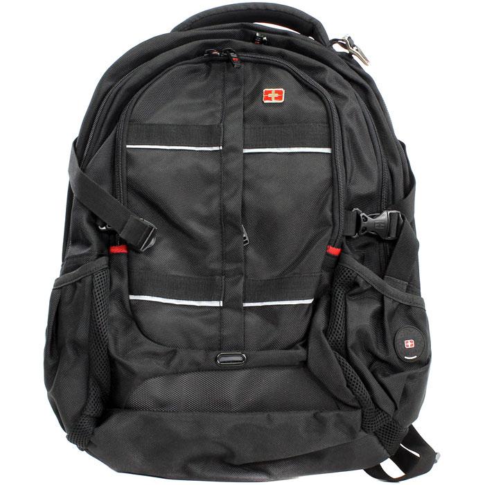 Рюкзак для ноутбука 16″ Continent BP-302, черный, нейлоновый