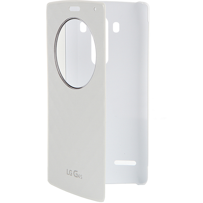 Чехол LG QuickCircle CFV-110 для LG H736 G4s white
