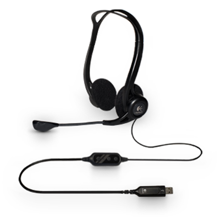 Гарнитура Logitech PC Headset 960 ( 981-000100 )