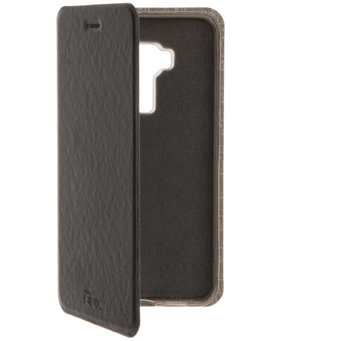 Чехол skinBOX Lux case для Asus ZenFone 3 ZE552KL черный