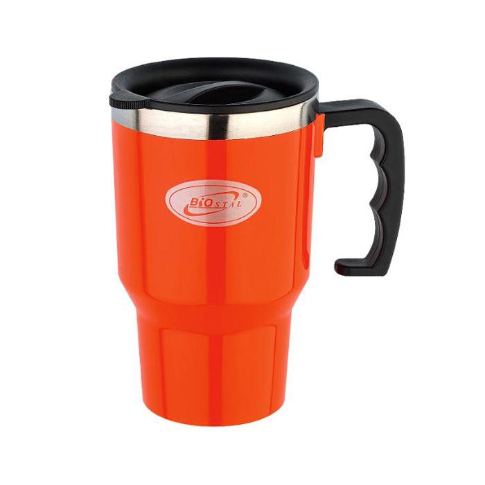 Кружка Biostal NMP-450-P оранжевая