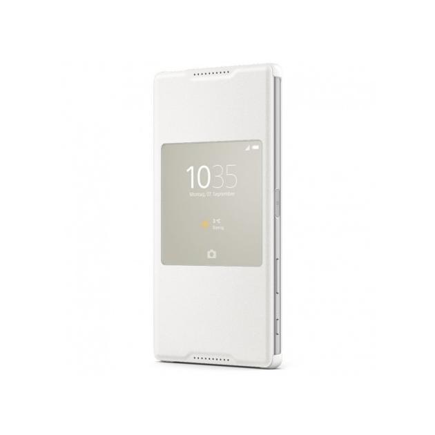 Чехол Sony Flipcase SCR30 для Sony E6553/E6533 Xperia Z3+/Xperia Z3+ Dual, белый