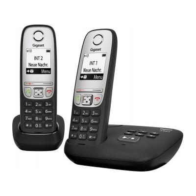 Телефон Dect Siemens A415A Duo black