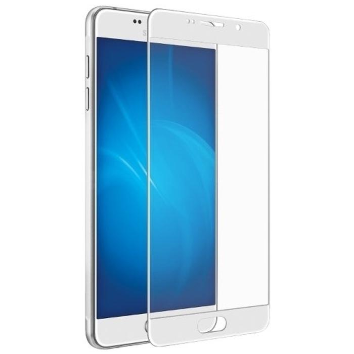 Защитное стекло Onext для Samsung Galaxy A3 (2016) SM-A310F белая рамка