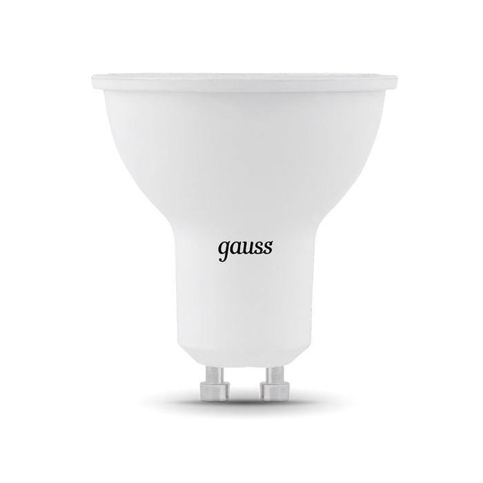 Светодиодная лампа Gauss MR16 GU10 7W 220V желтый свет