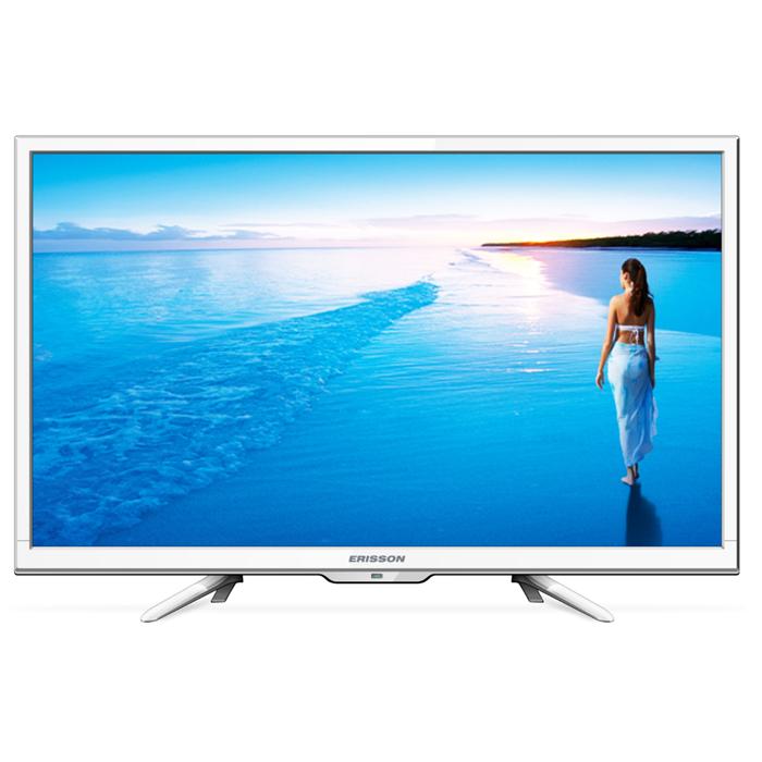 Телевизор ЖК 32″ Erisson 32LES78T2W белый