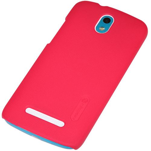 Чехол Nillkin Super Frosted для HTC Desire 500 красный