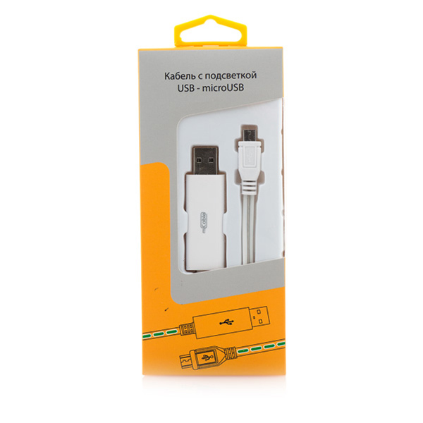 Кабель USB-MicroUSB  Gmini mCable 80см MEL200 голубой