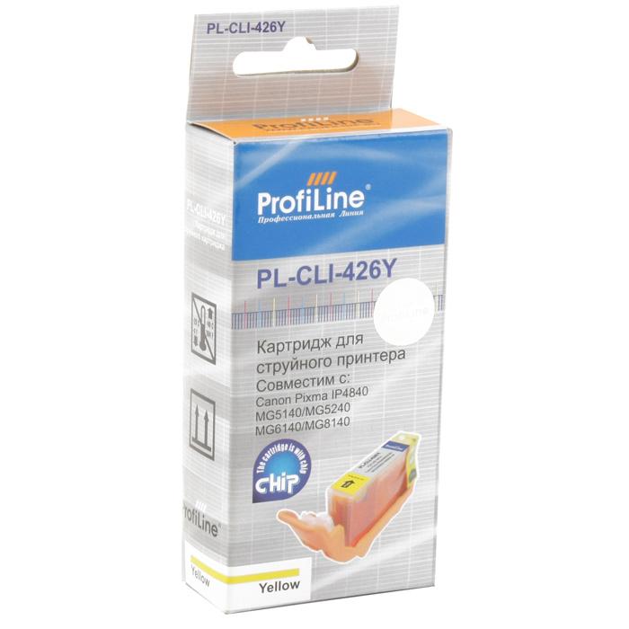 Картридж ProfiLine PL-CLI-426Y