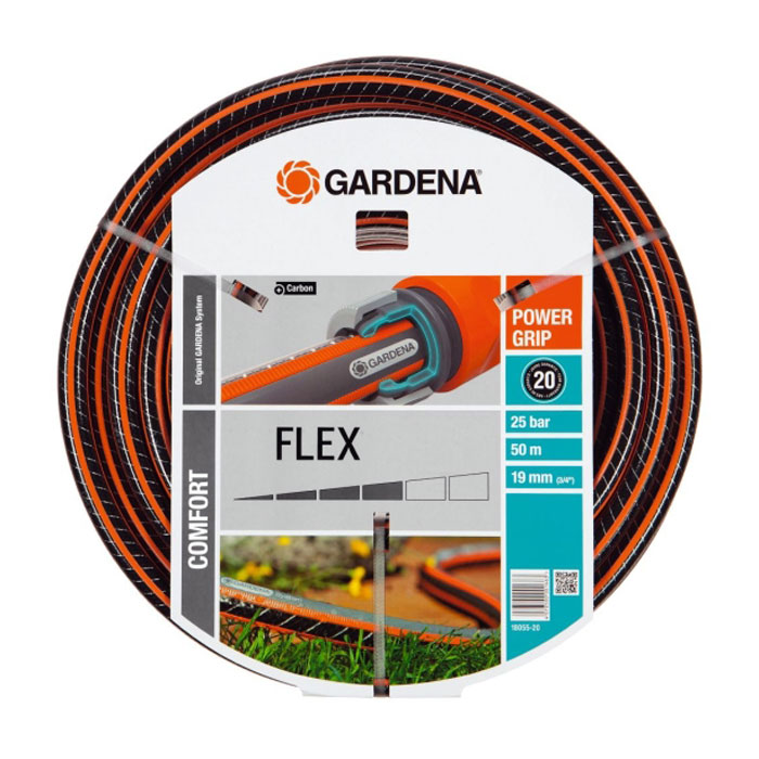 Шланг GARDENA FLEX 3/4″ — 50м 18055-20.000.00