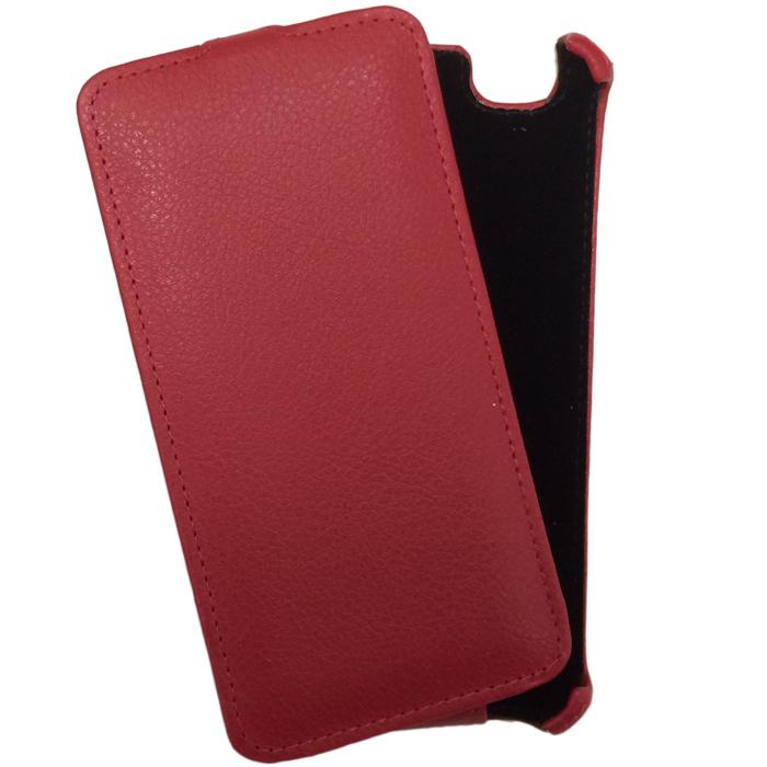 Чехол Gecko Flip для Fly FS505 Nimbus 7, красный