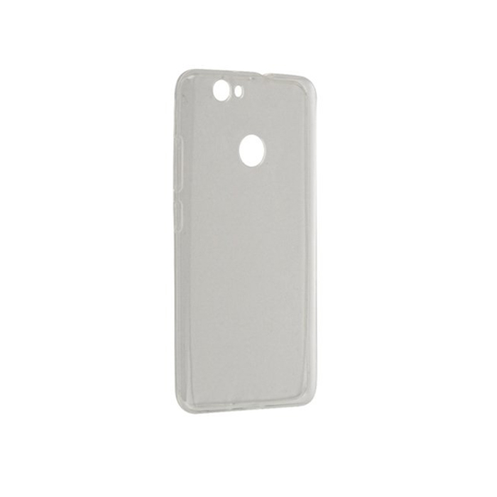 Чехол Gecko Силиконовая накладка для Huawei Nova, прозрачно-глянцевая, белая