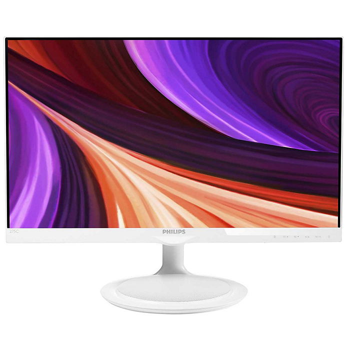 Монитор ЖК Philips 275C5QHAW 27′ IPS white VGA HDMI MHL