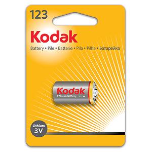 Батарейки Kodak CR123 ( K123LA )