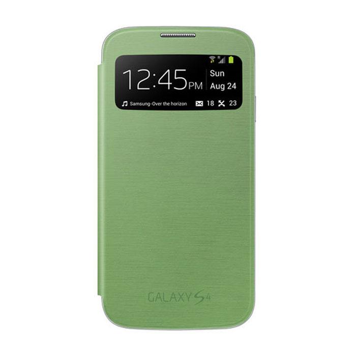 Чехол для Samsung i9500/i9505 Galaxy S IV Samsung EF-CI950BGE S-View зеленый