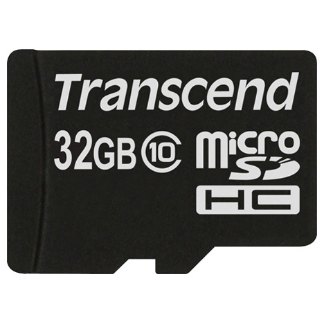 Флеш-карта microSDHC 32Гб Transcend , Class 10 ( TS32GUSDC10 )