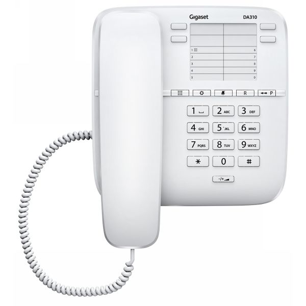 Телефон Siemens Gigaset DA410 белый