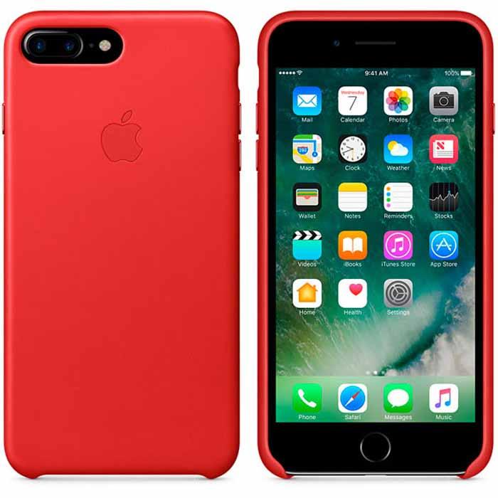 Чехол для Apple iPhone 7 Plus Leather Case Red MMYJ2ZM/A
