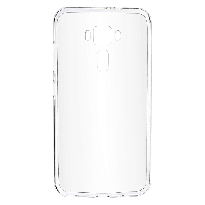Чехол SkinBox 4People slim silicone case для Asus ZenFone 3 ZE520KL прозрачный