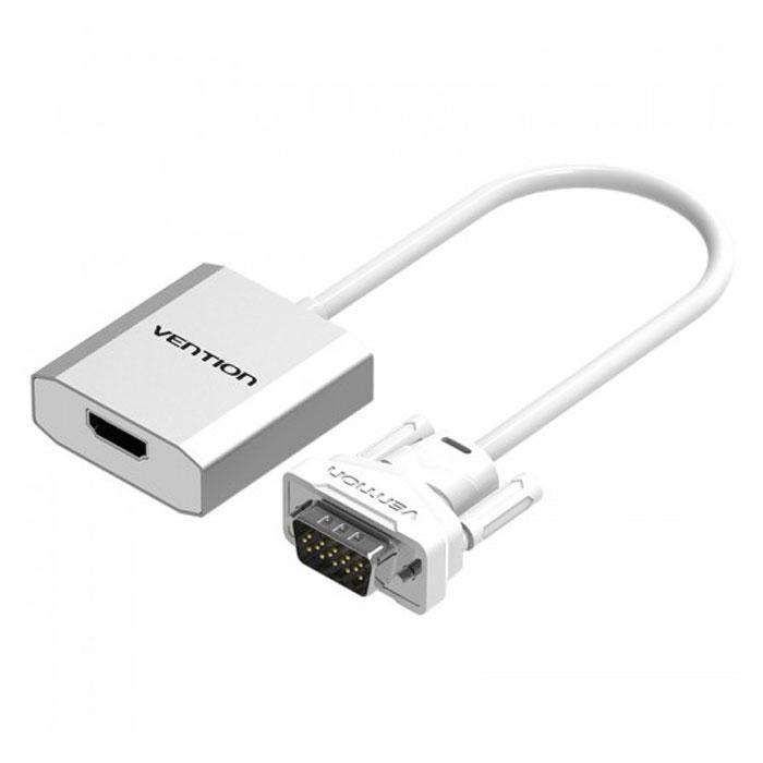 Адаптер VGA + аудио > HDMI Vention ( ACEW0 )