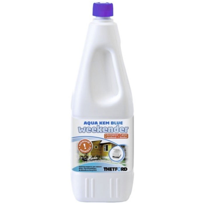 Жидкость для биотуалета Thetford Aqua Kem Blue Weekender 2л