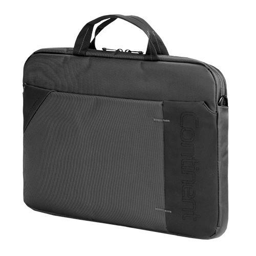 """Сумка для ноутбука 15.6"""" Continent CC-205 GA, нейлоновая, серая"""