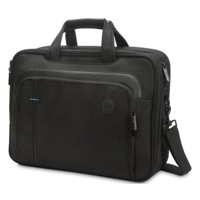 Сумка для ноутбука 15.6″ HP Legend Topload, черный, нейлоновая