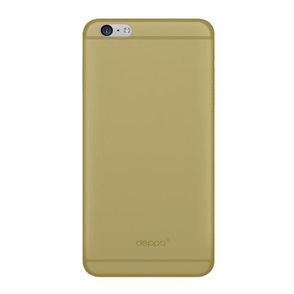 Чехол Deppa Sky Case 0.4 с пленкой для iPhone 6 Plus/ iPhone 6s Plus, золотистый