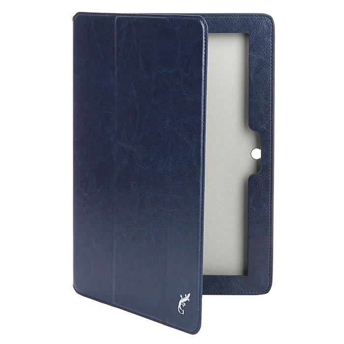 Чехол для Lenovo Tab 2 A10-30  X30, G-case Executive, эко кожа, темно-синий