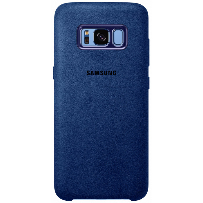 Чехол Samsung Alcantara Cover для Samsung Galaxy S8+ (2017) SM-G955, синий
