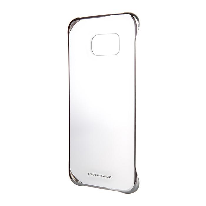 Чехол Samsung Clear Cover для G928 Galaxy S6 Edge Plus, серебрянный