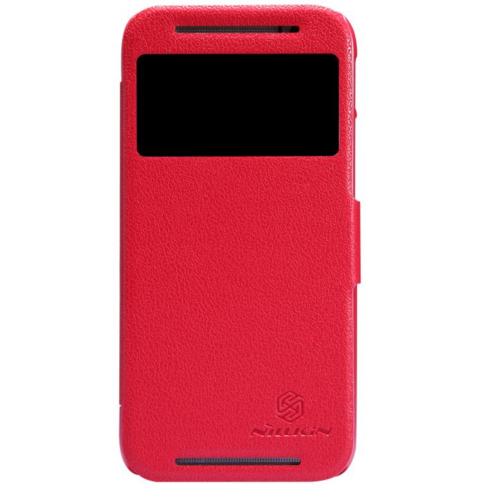Чехол Nillkin Fresh Series для HTC One M8 красный