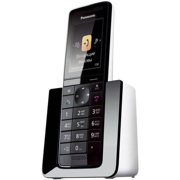 Телефон Dect Panasonic KX-PRS110RUW