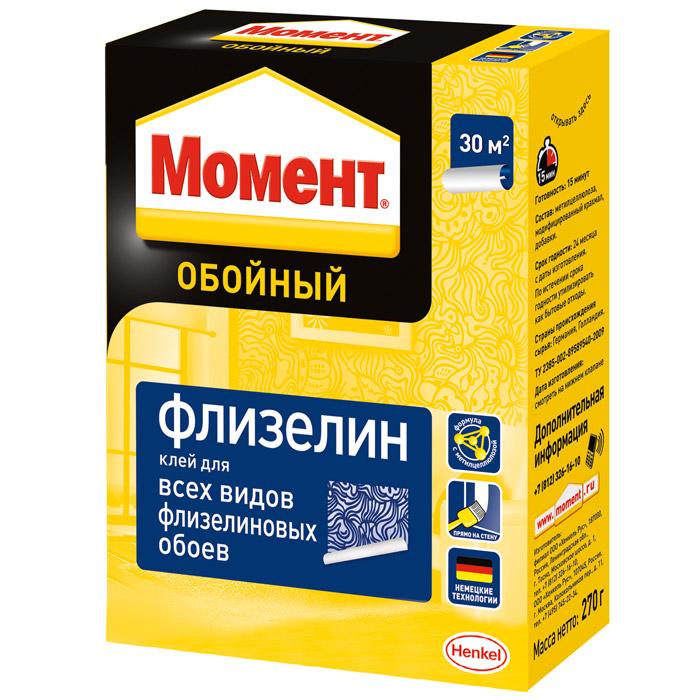 Клей обойный Момент Флизелин 270г 1234787