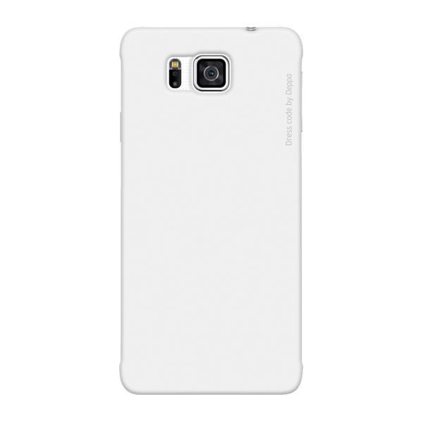 Чехол Deppa Air Case для Samsung Galaxy Alpha G850, белый