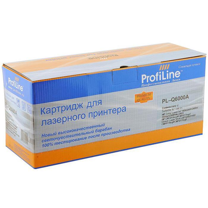 Картридж ProfiLine PL-Q6000A Black