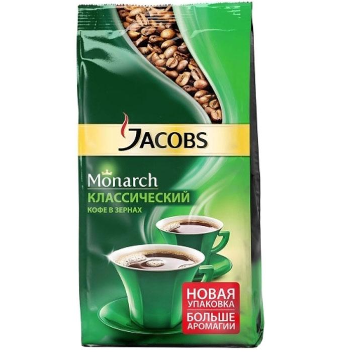 Кофе в зёрнах Jacobs Монарх зерно 800 г