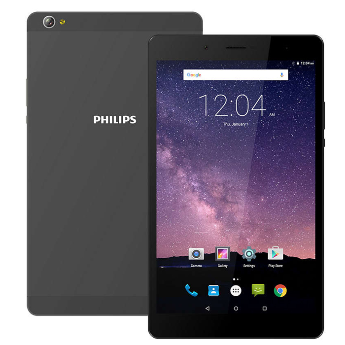 Планшет Philips E821L 16Gb 8.0 gray