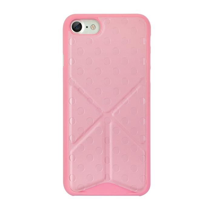 Чехол Ozaki O!coat 0.3 Totem Versatile для iPhone 7, розовый