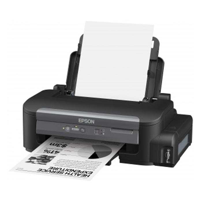 Принтер Epson M100 струйный ч/б с Снпч