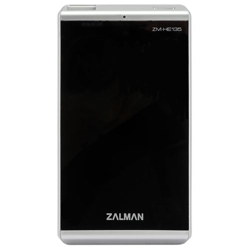 Корпус для HDD 2.5″ SATA-USB3.0 Zalman ZM-HE135 Black, Alum