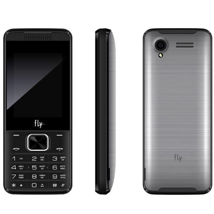 Сотовый телефон Fly FF245 Dark grey