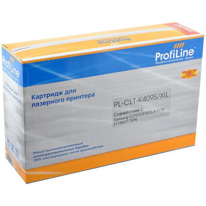 Картридж ProfiLine PL-CLT-K409S Black