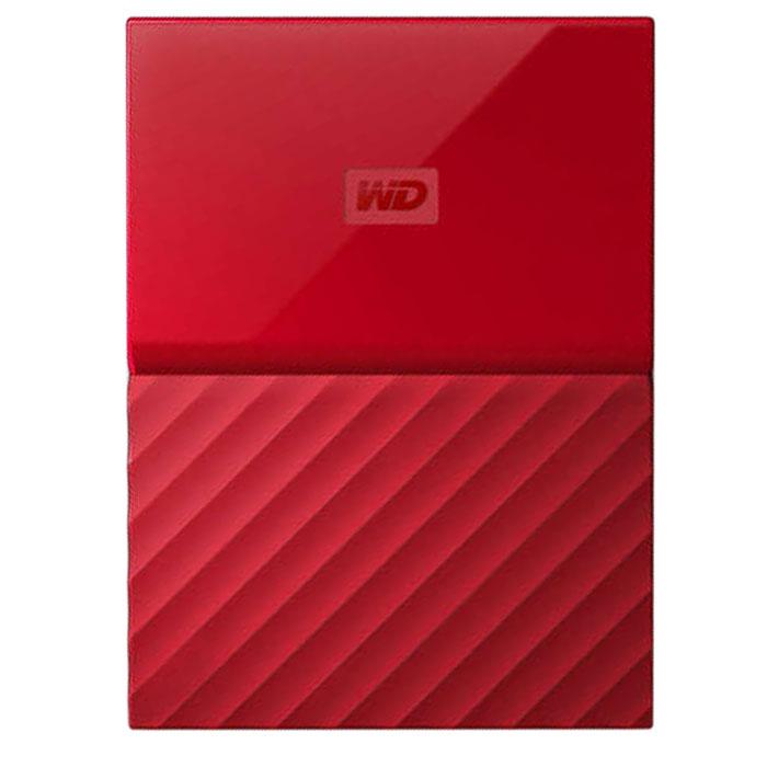 Внешний жесткий диск USB3.0 2.5″ 2Тб WD My Passport ( WDBUAX0020BRD-EEUE ) Красный