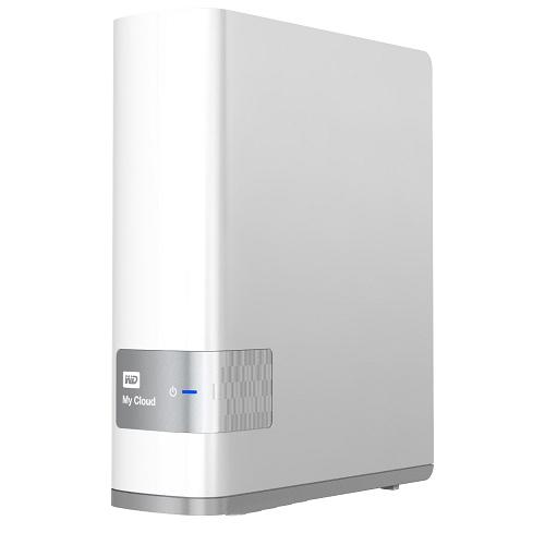 Внешний жесткий диск LAN 3.5″ 4.0Тб WD My Cloud ( WDBCTL0040HWT-EESN )