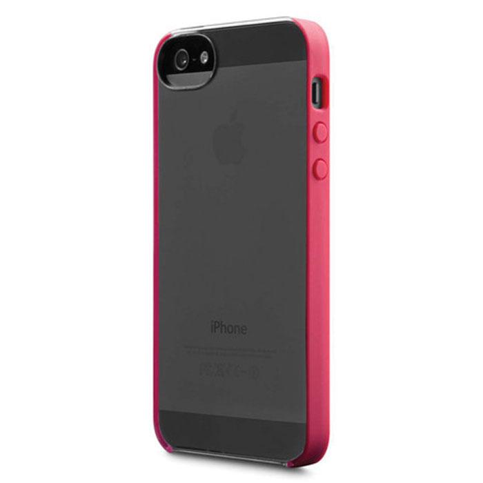 Чехол Incase Pro Snap Case CL69053 для iPhone 5 / iPhone 5S прозрачный/красный