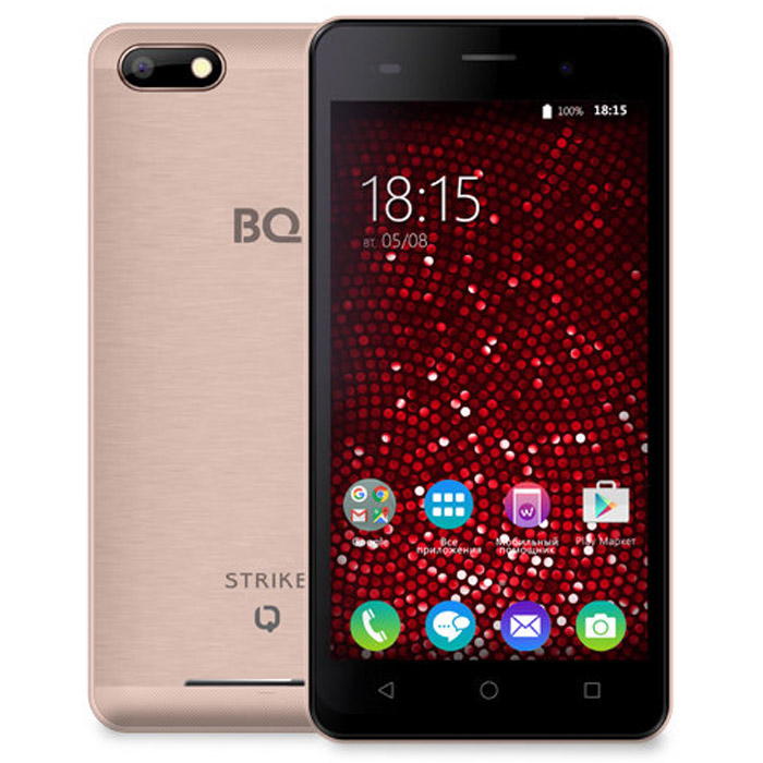 Смартфон BQ Mobile BQS-5020 Strike Rose Gold Matt