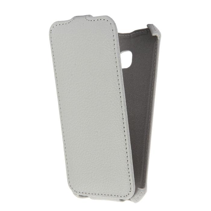 Чехол Gecko Flip Case для Samsung Galaxy A3 (2017) SM-A320F, белый